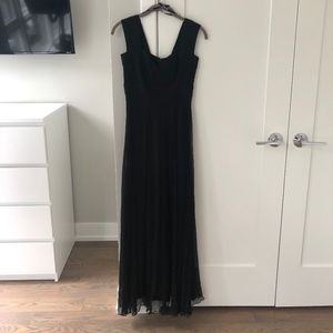 Tadashi Collection Black Evening Gown